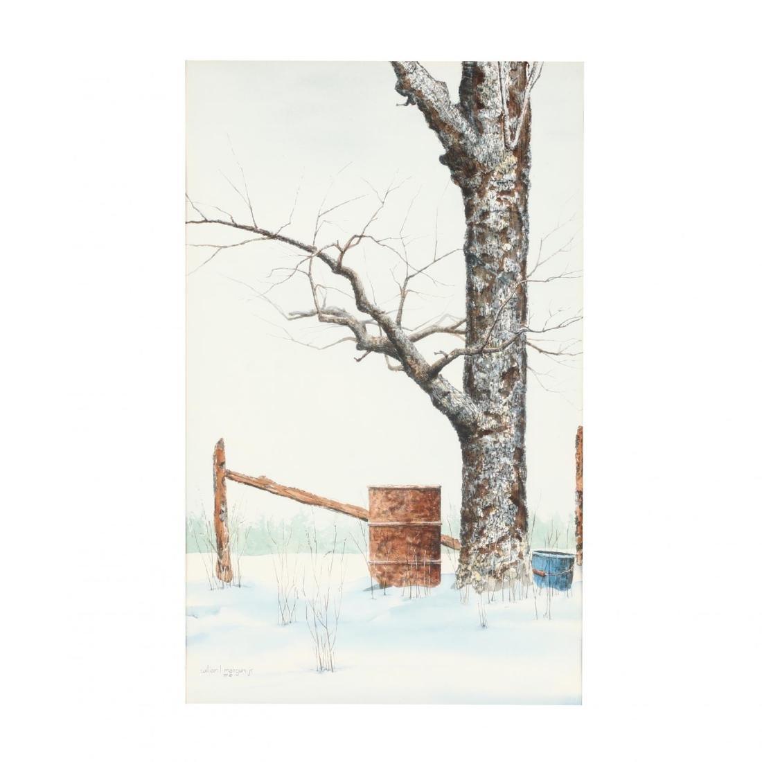 William L. Mangum (NC), Winter Scene