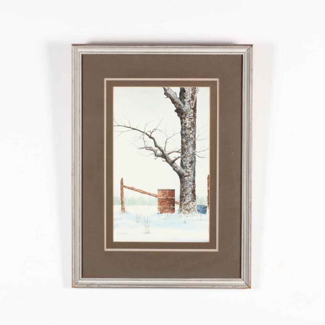 William L. Mangum (NC), Winter Scene - 2