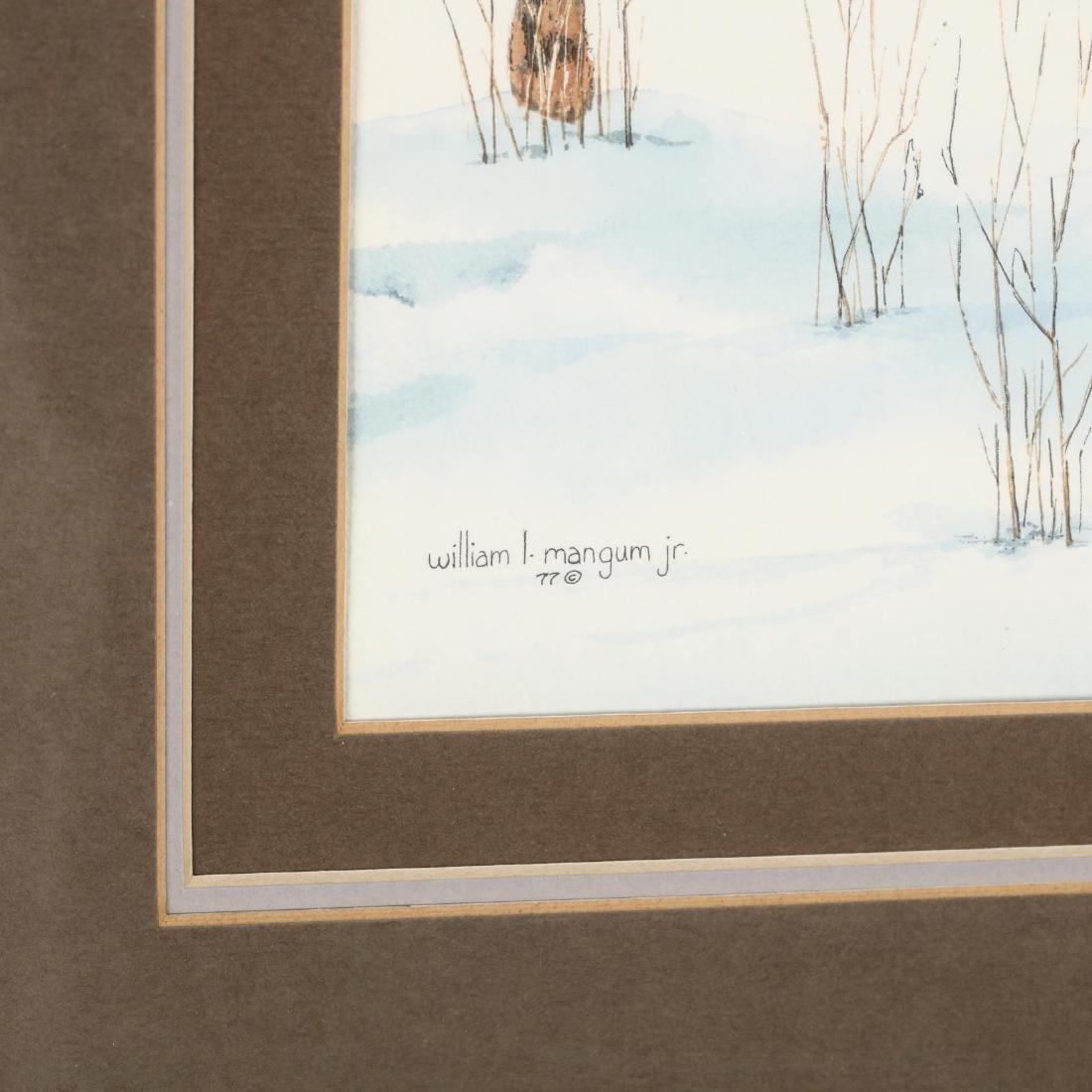 William L. Mangum (NC), Winter Scene - 3