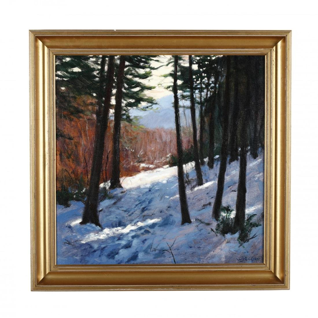 William Jameson (SC, b. 1944), Winter Landscape