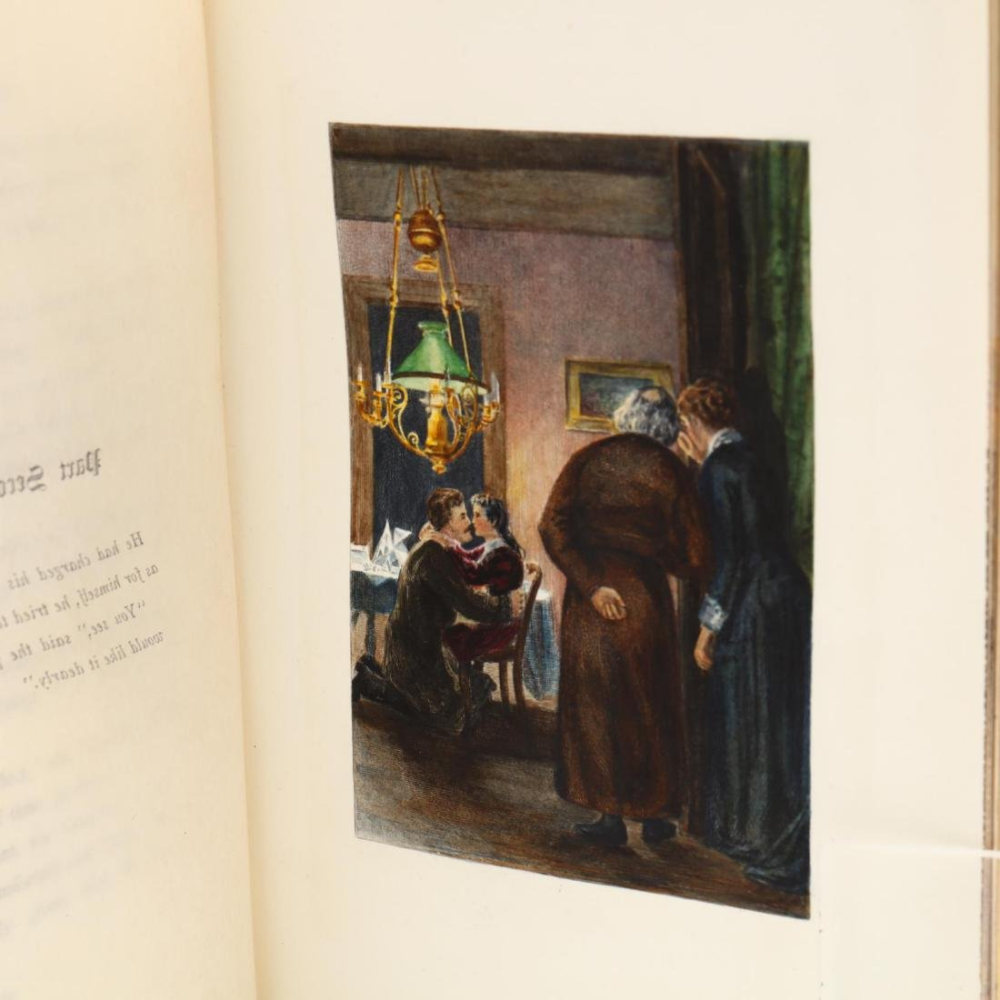 Emile Zola,  A Page of Love  with Fore-edge Paintings - 7