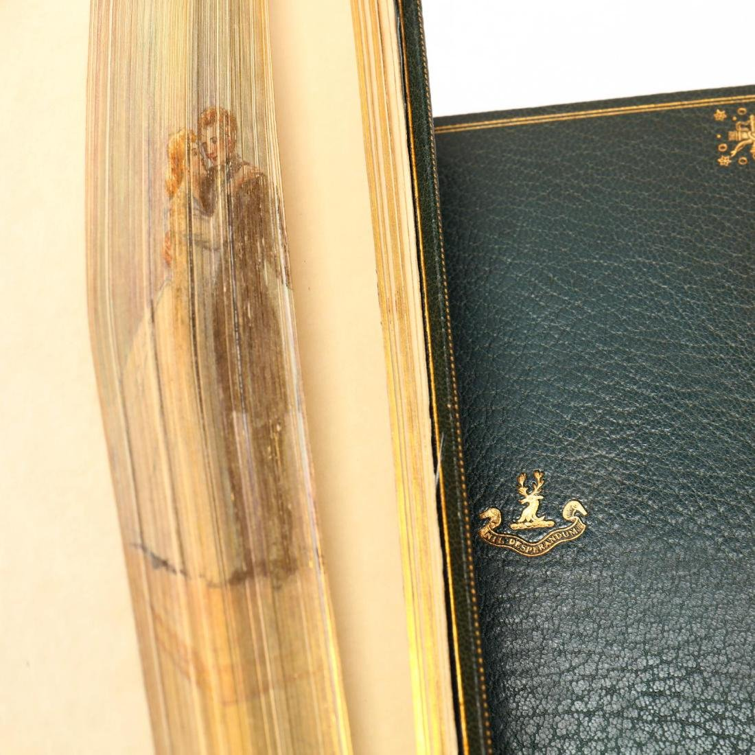 Emile Zola,  A Page of Love  with Fore-edge Paintings - 9