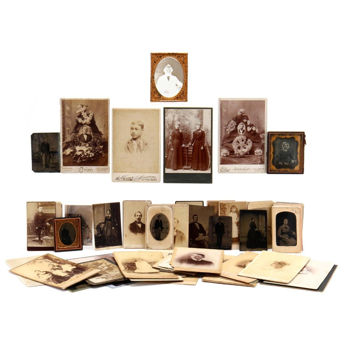 Large Grouping of Mostly 19th Century Photographs
