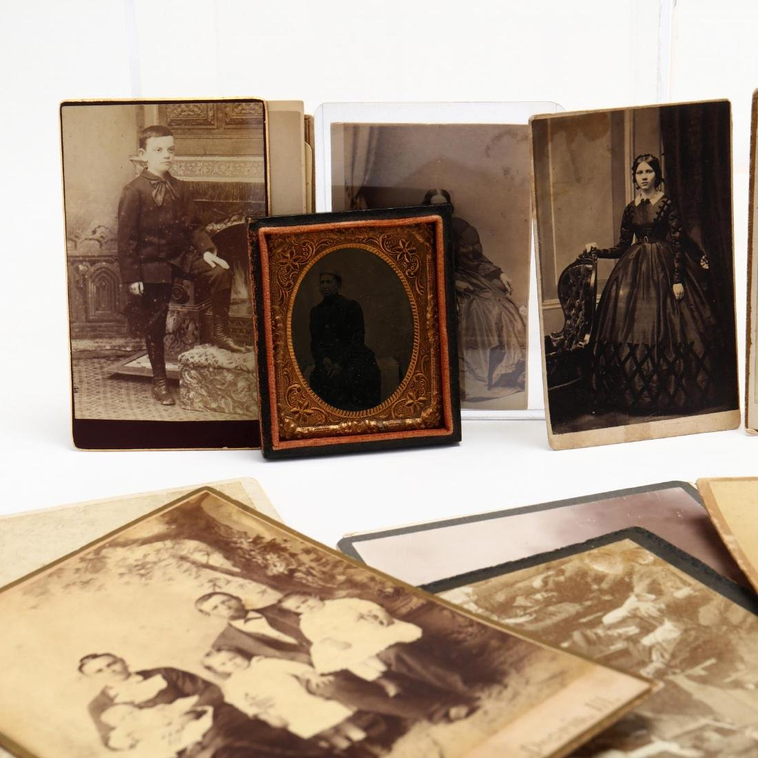 Large Grouping of Mostly 19th Century Photographs - 5