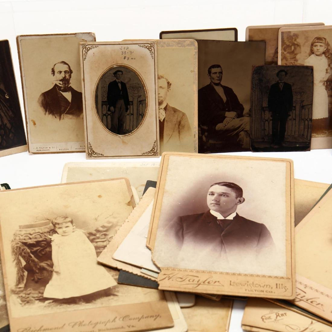 Large Grouping of Mostly 19th Century Photographs - 6