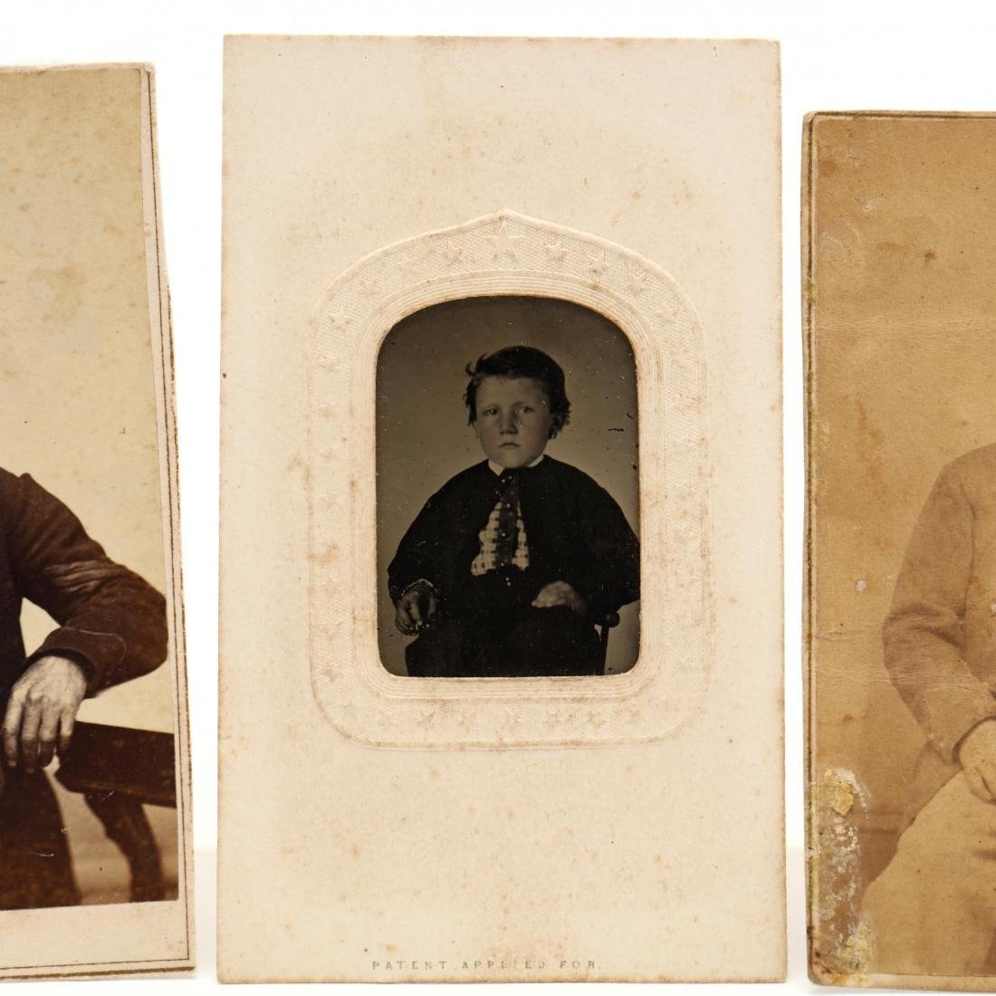 1860s Family CDV Album With Four Union Soldier - 7