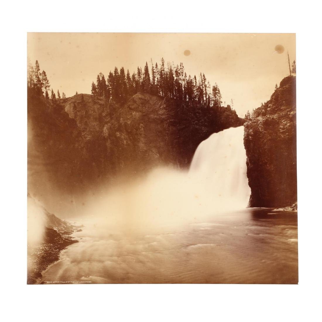 Large Albumen Photograph,  The Upper Falls of the