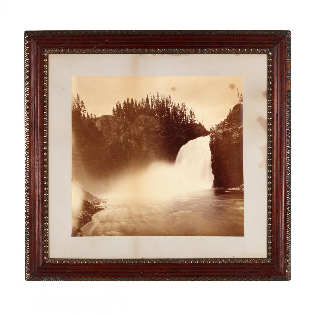 Large Albumen Photograph,  The Upper Falls of the - 2