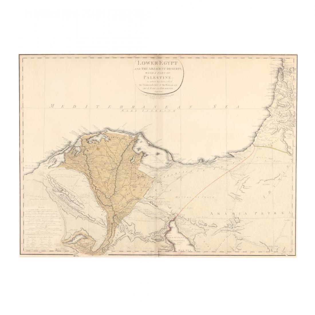 De La Rochette, L. S.  Lower Egypt and the Adjacent - 2