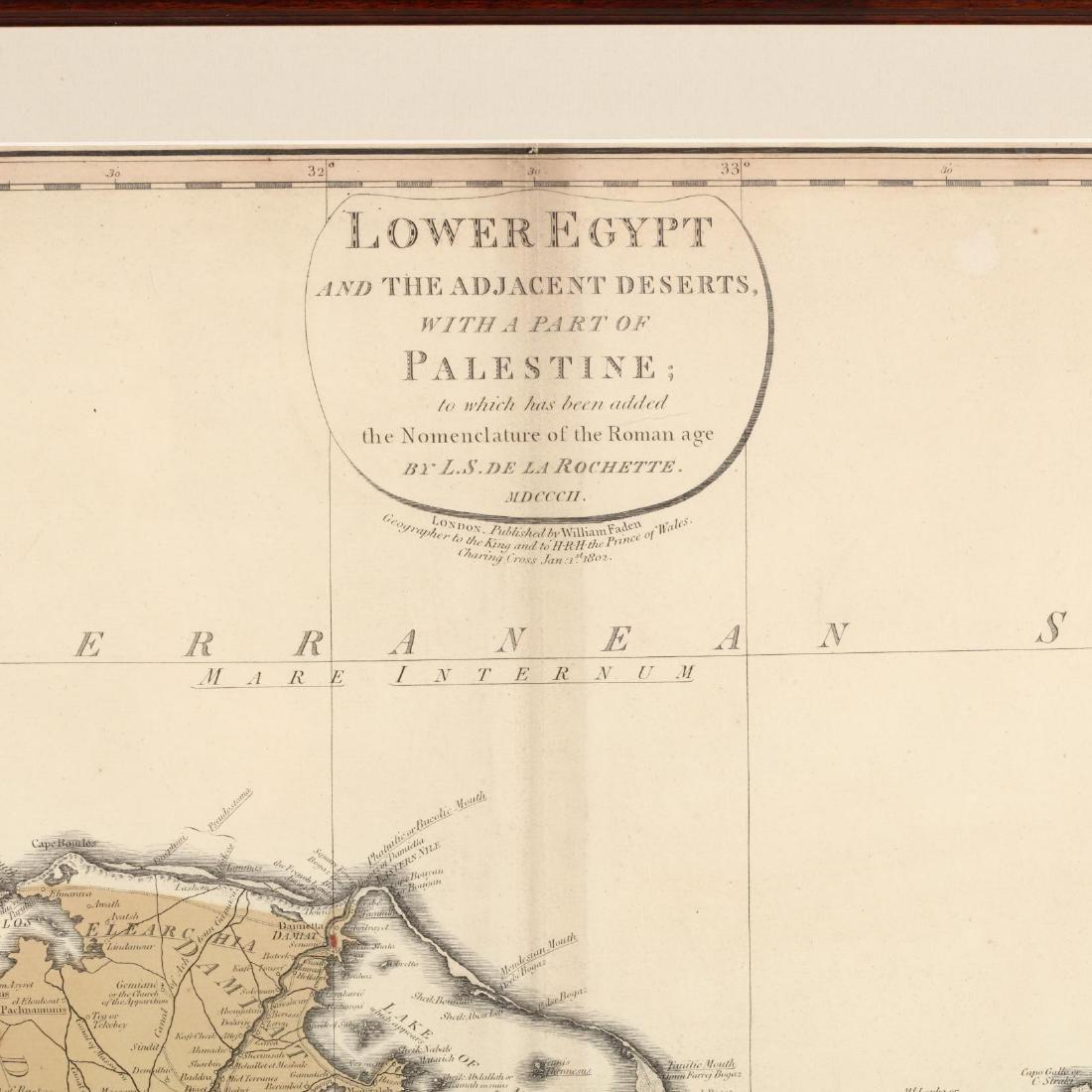 De La Rochette, L. S.  Lower Egypt and the Adjacent - 3