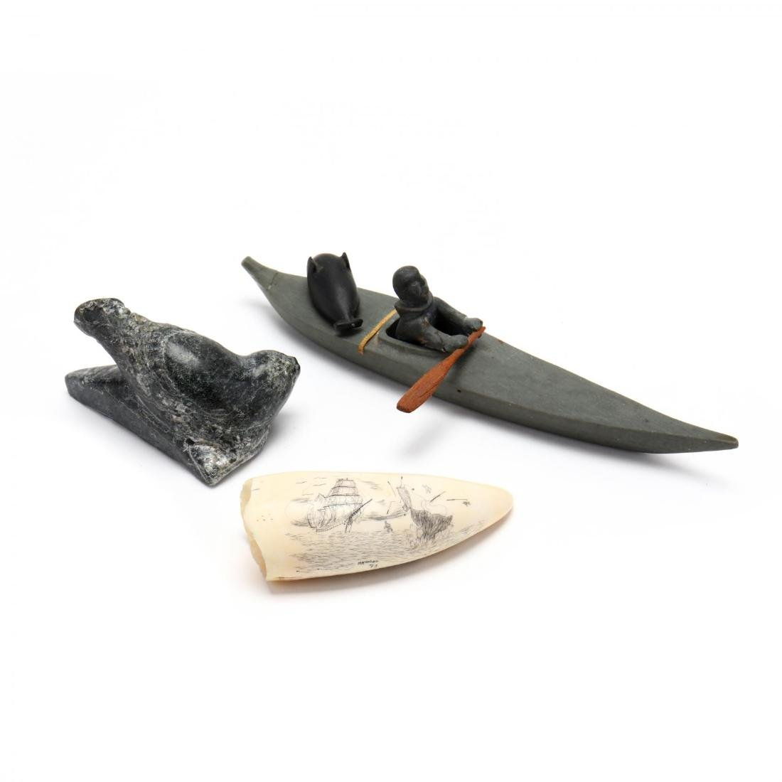 Grouping of Inuit Carvings - 5