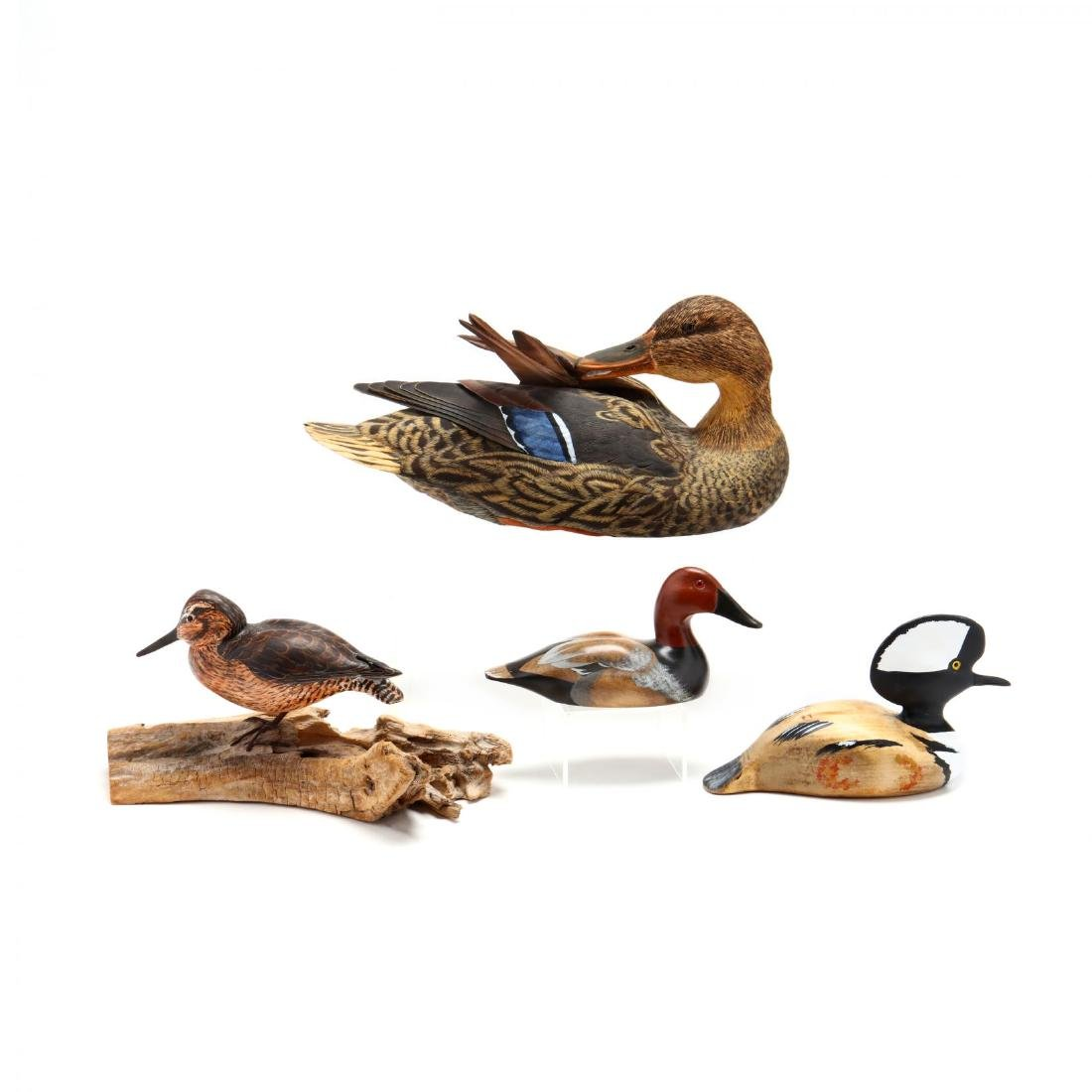 Four Carved and Painted Decoys - 2