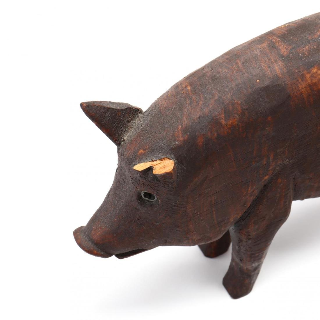 A Collection of Seven Pig Sculptures - 3