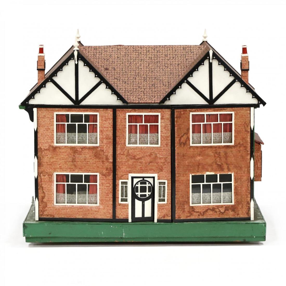 Edwardian Tudor-Style Doll House