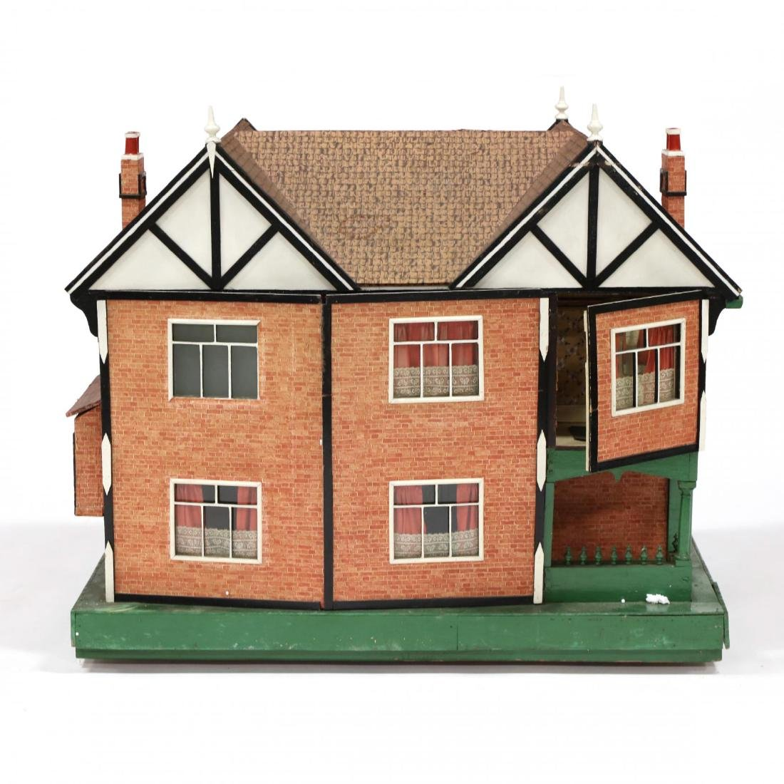 Edwardian Tudor-Style Doll House - 5