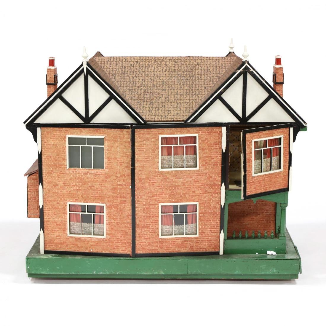 Edwardian Tudor-Style Doll House - 6