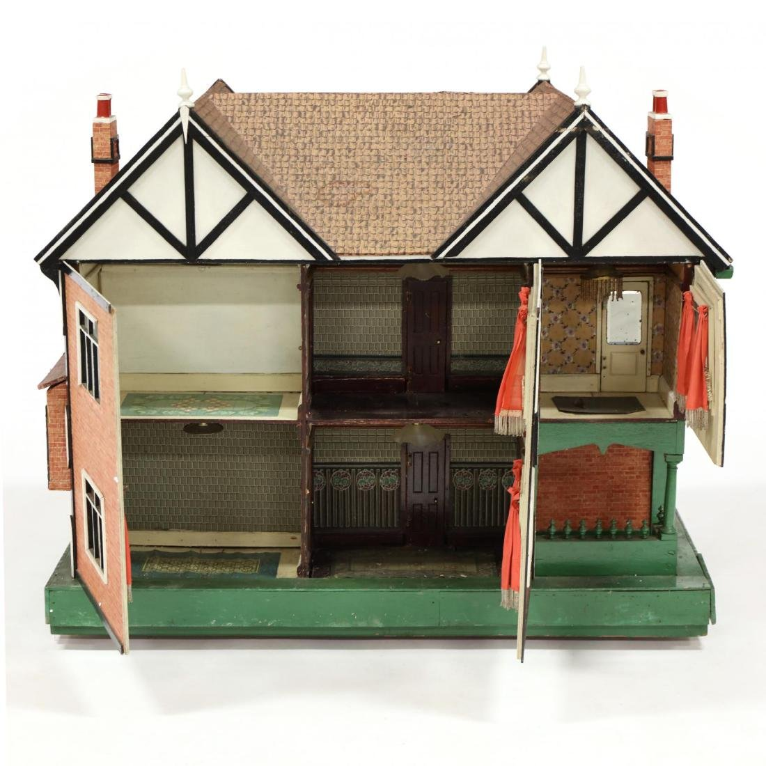 Edwardian Tudor-Style Doll House - 7