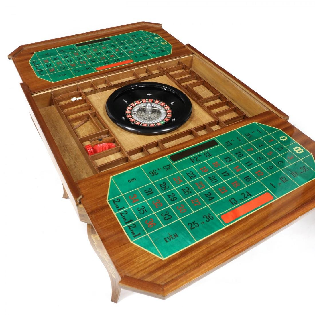 Italian Marquetry Inlaid Multi-Games Table - 8