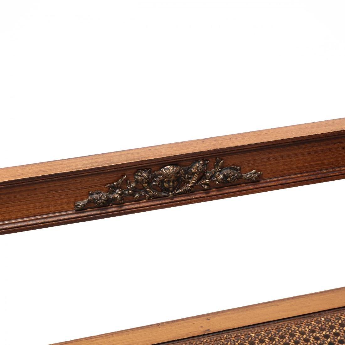 Louis XVI Style Cane Seat Settee - 4