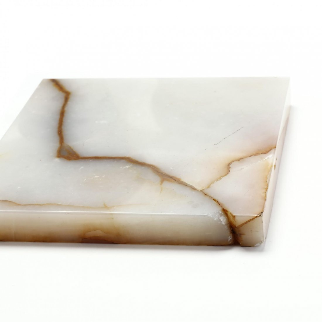 French Brass and Agate Table - 4
