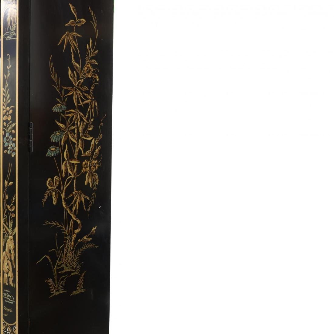 Drexel, Chinoiserie Decorated Lighted Breakfront - 3