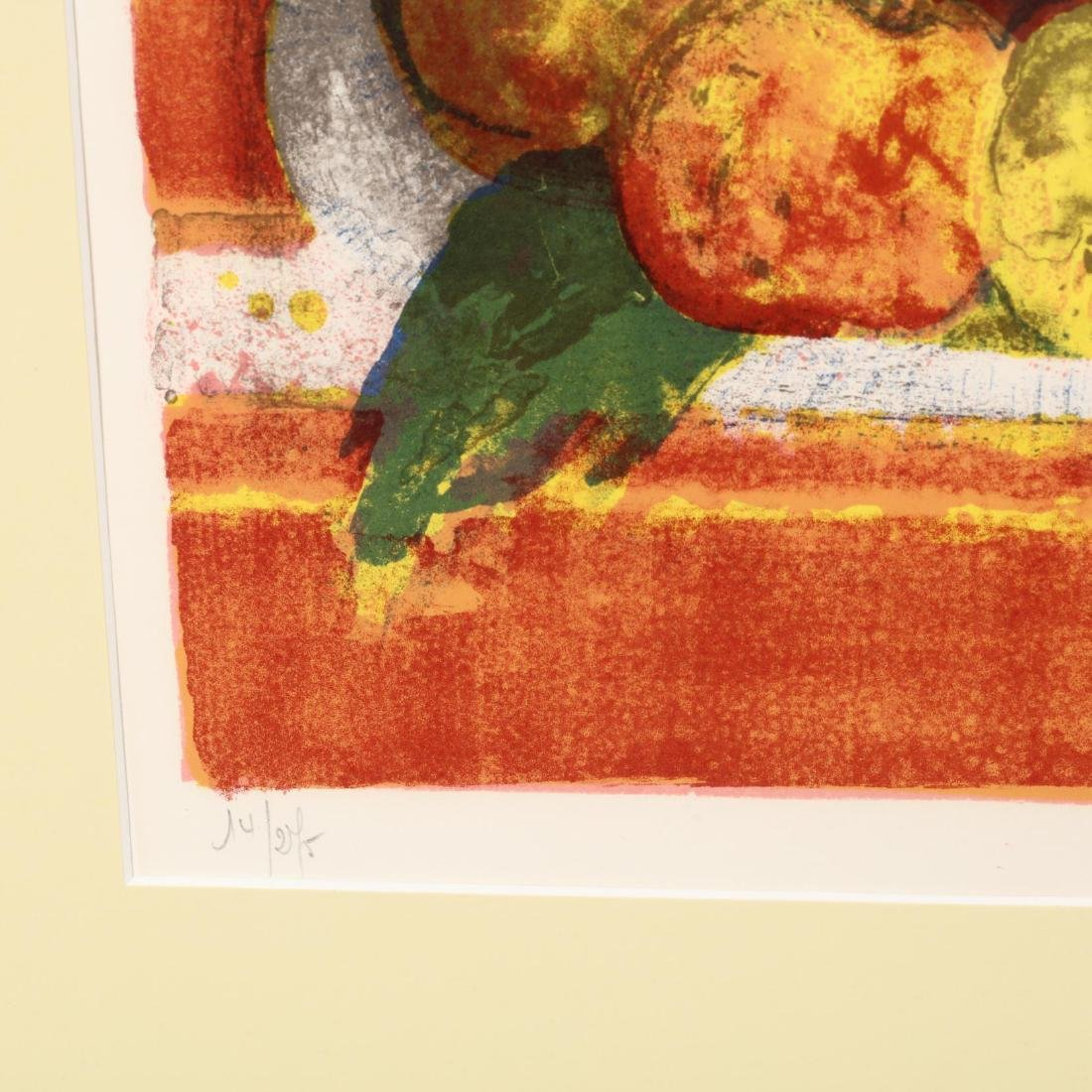 European School (20th Century), Two Floral and Fruit - 4