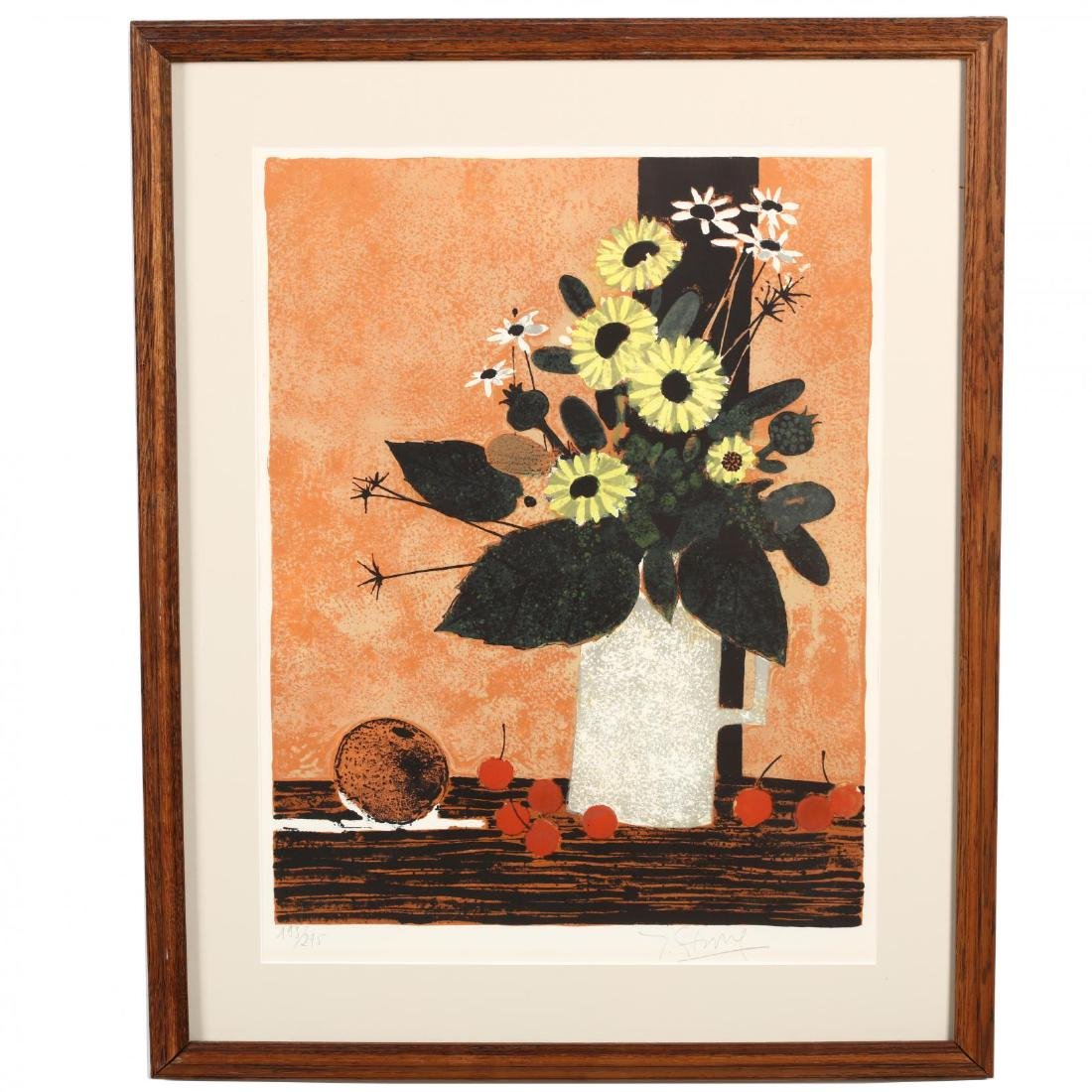 European School (20th Century), Two Floral and Fruit - 5