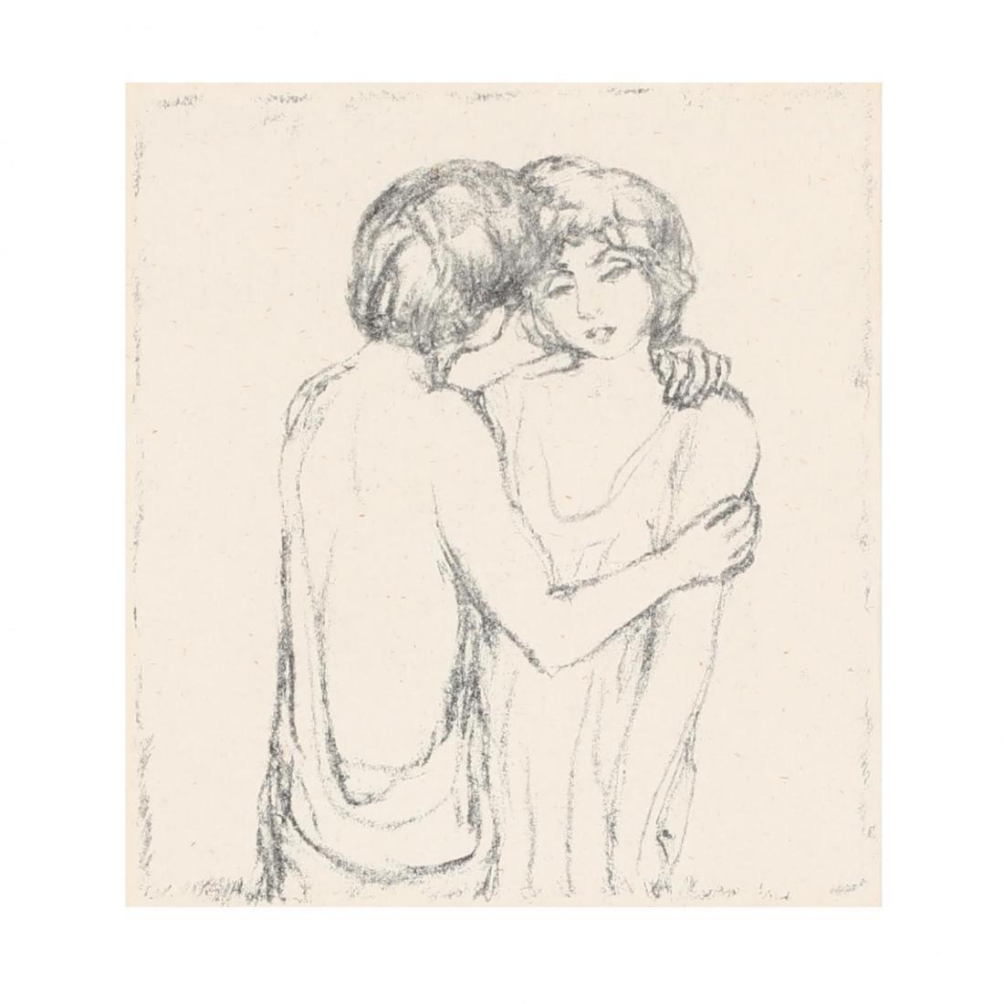 Pierre Bonnard (French, 1867-1947),  Daphnis and Chloé