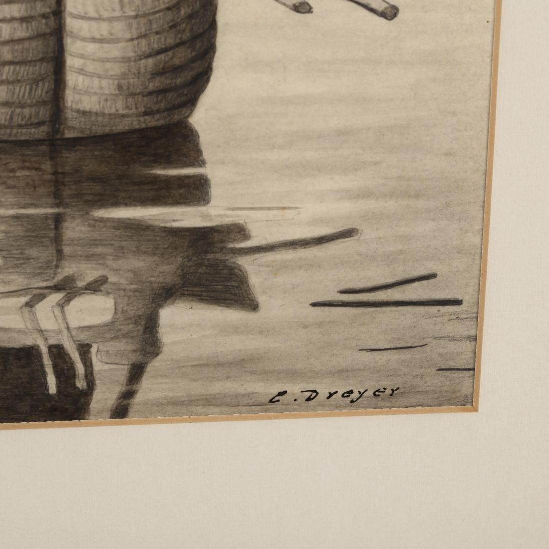 E. Dreyer (20th century),  El Balsero, Lago Ticicaca - 4