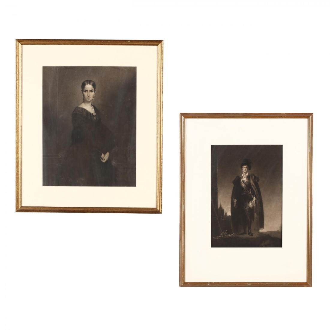 Two 19th-Century Engravings