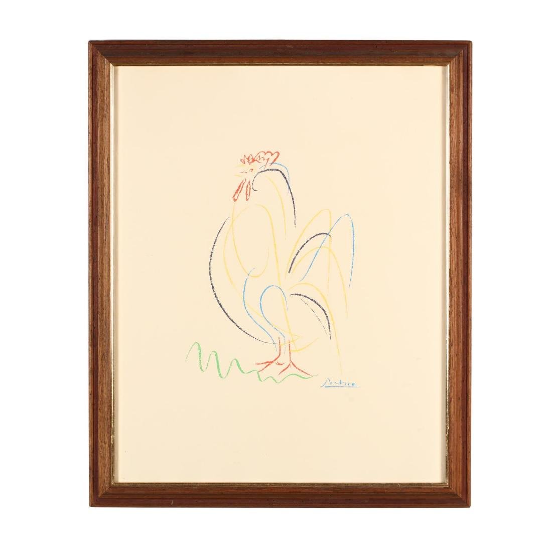 after Pablo Picasso (Spanish, 1881-1973), Rooster