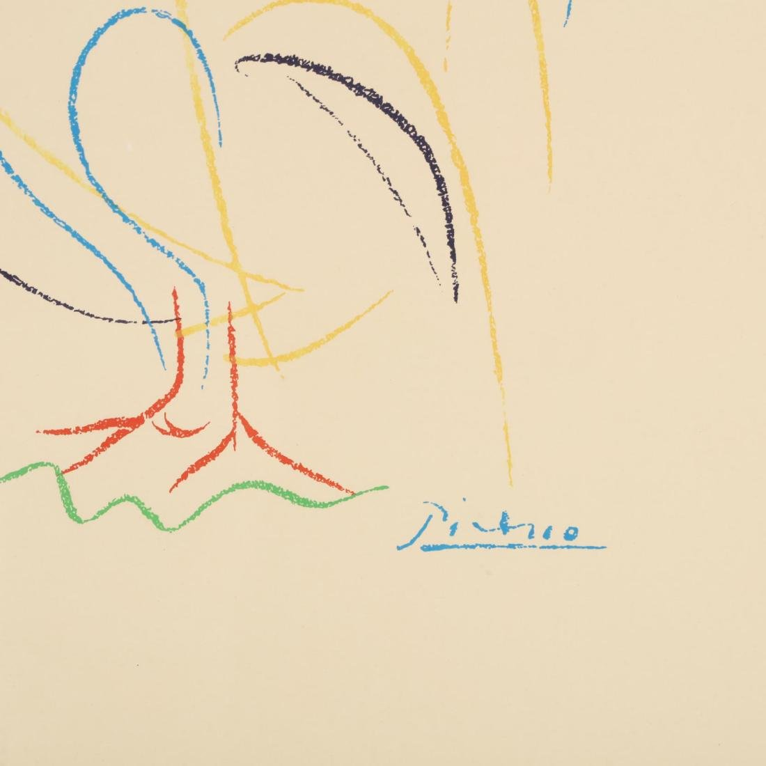 after Pablo Picasso (Spanish, 1881-1973), Rooster - 2