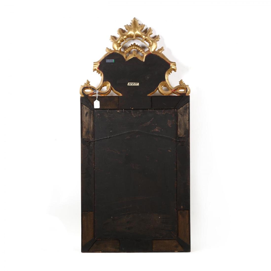 A Designer Baroque Style Scenic Painted Mirror - 4