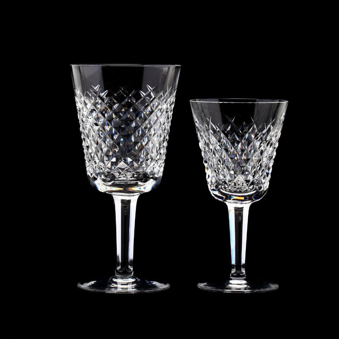 Set of Twelve Waterford Crystal Stems - 2