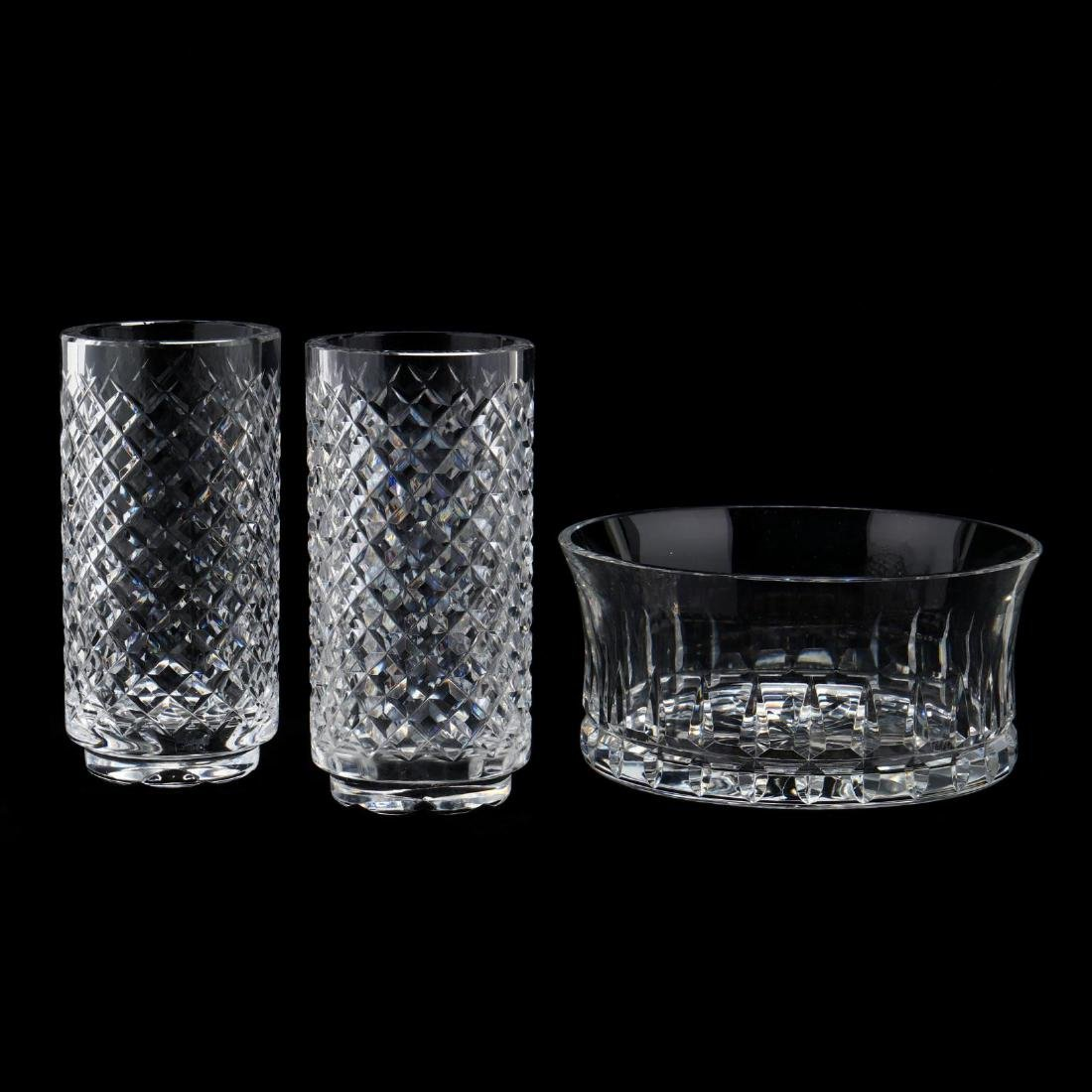 Three Crystal Table Accessories, Inc. Waterford