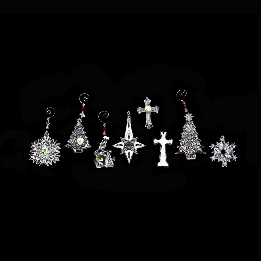 A Collection of Eight Waterford Crystal Christmas - 2