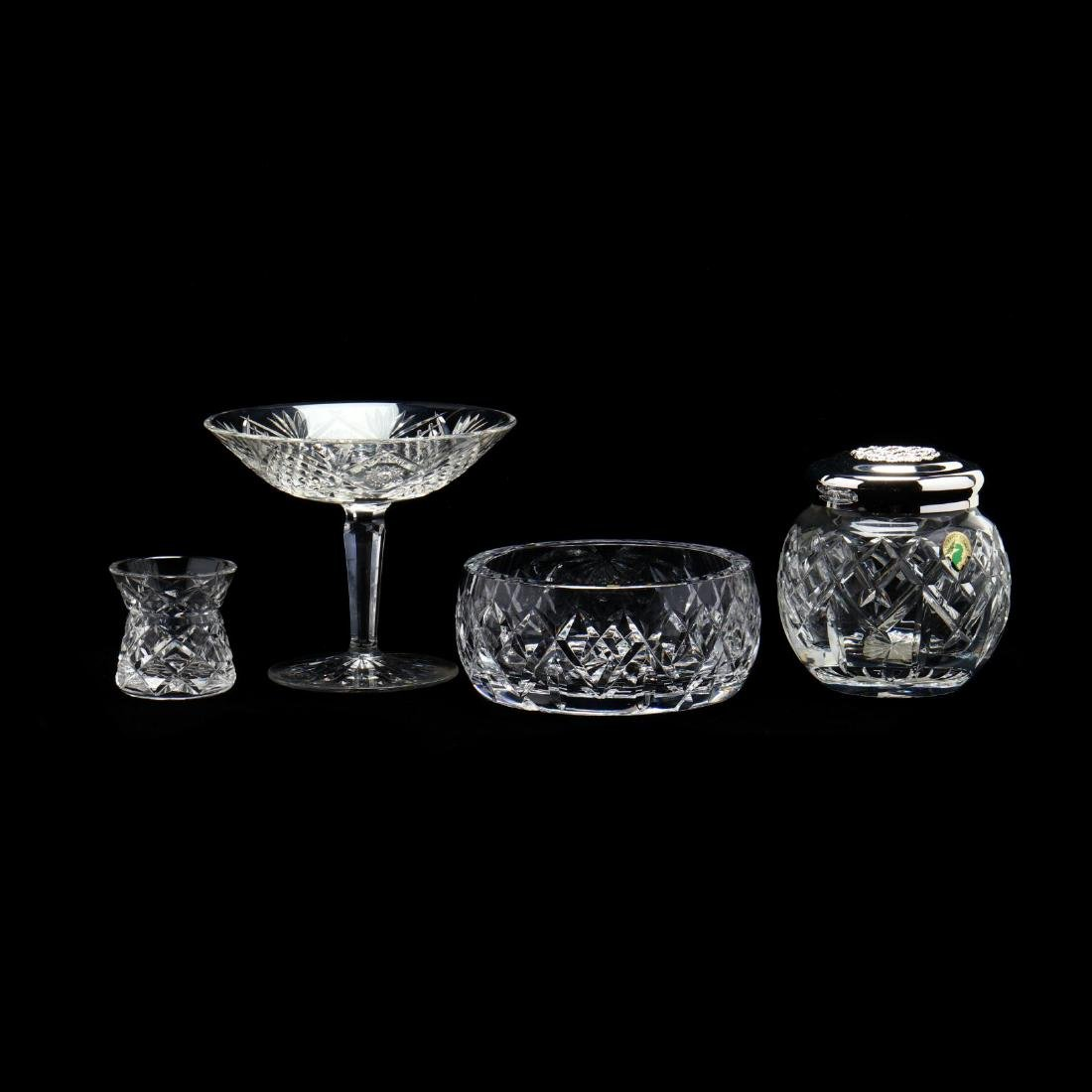 Three Waterford Crystal Table Wares