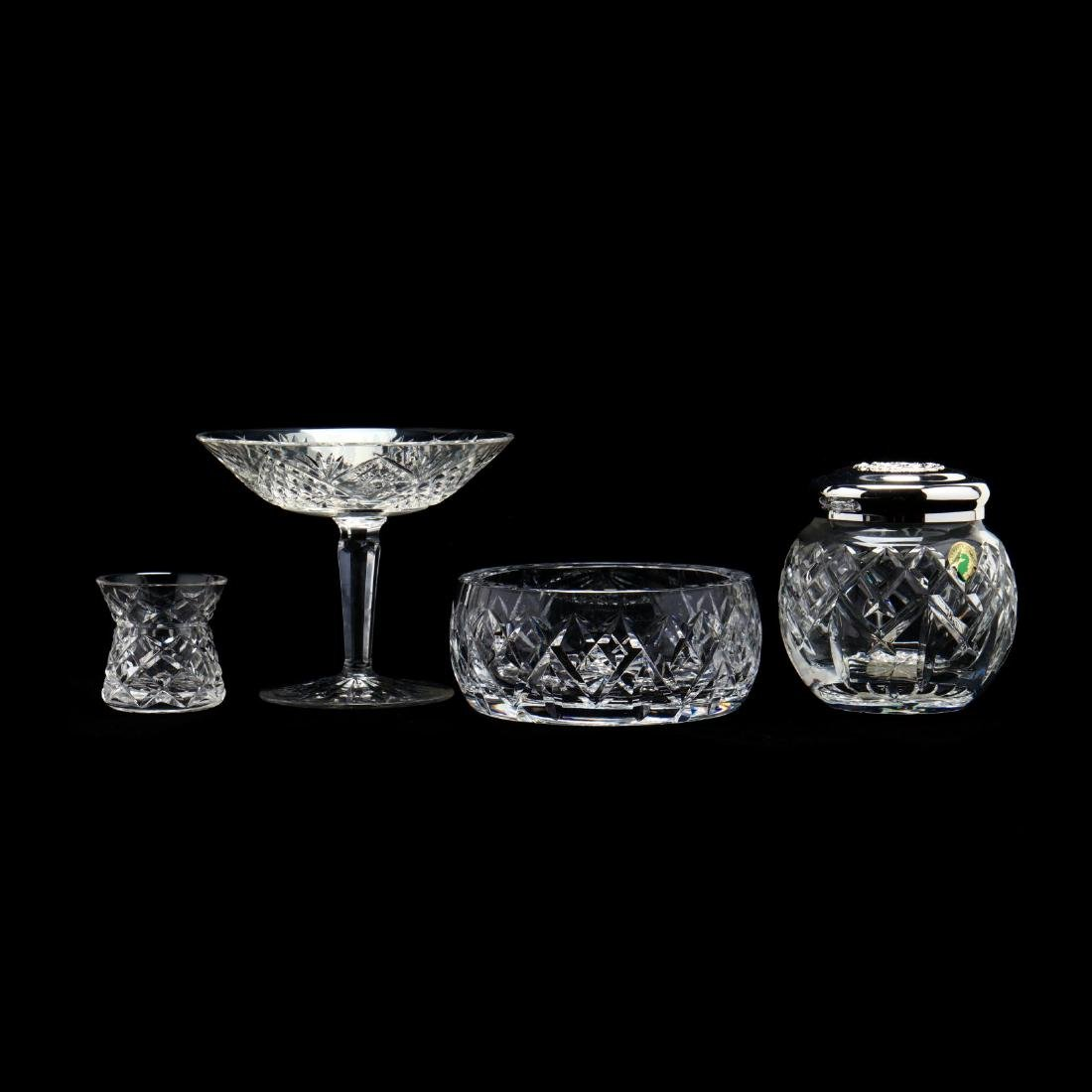 Three Waterford Crystal Table Wares - 2