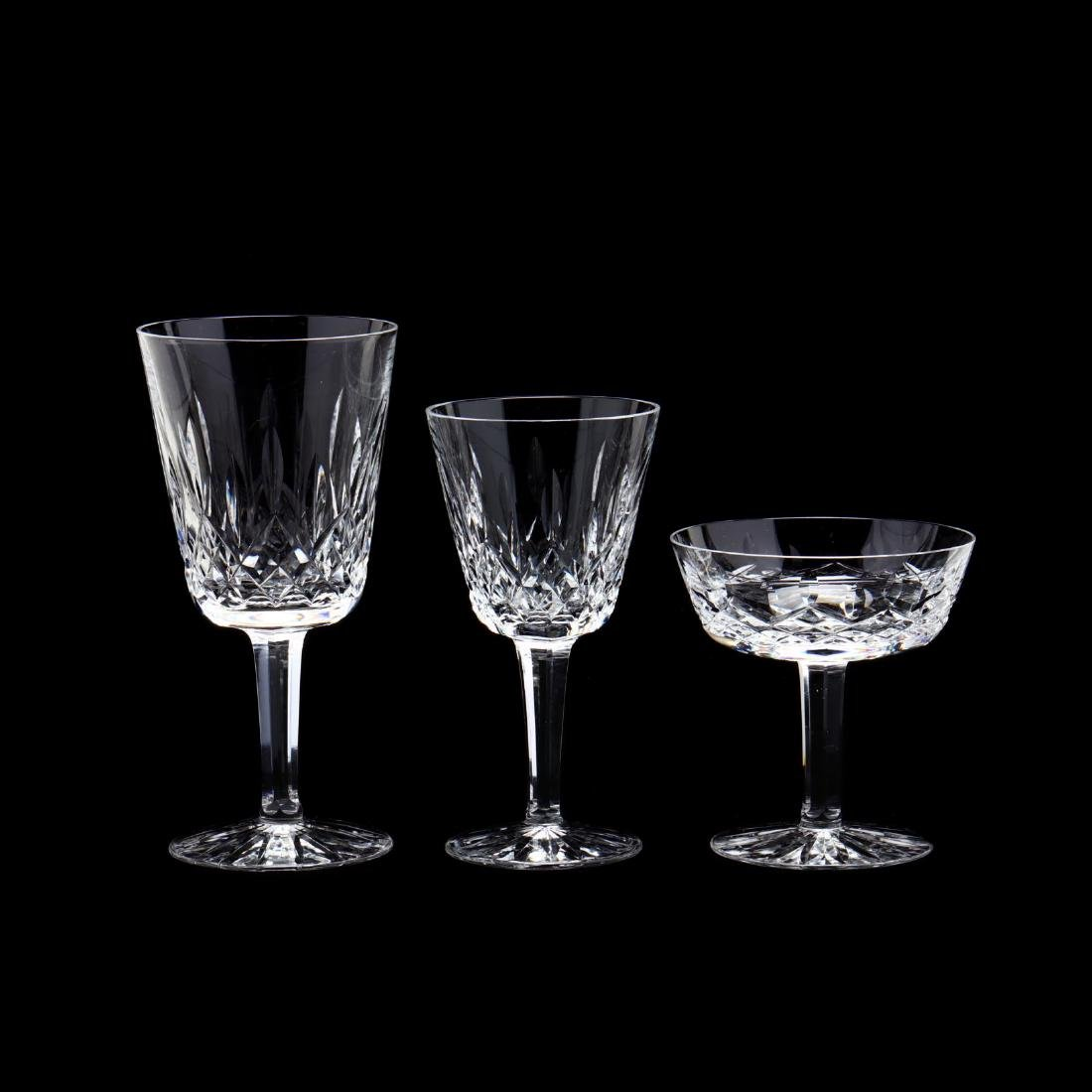 Waterford, (16) Pieces of  Lismore  Pattern Stemware - 3
