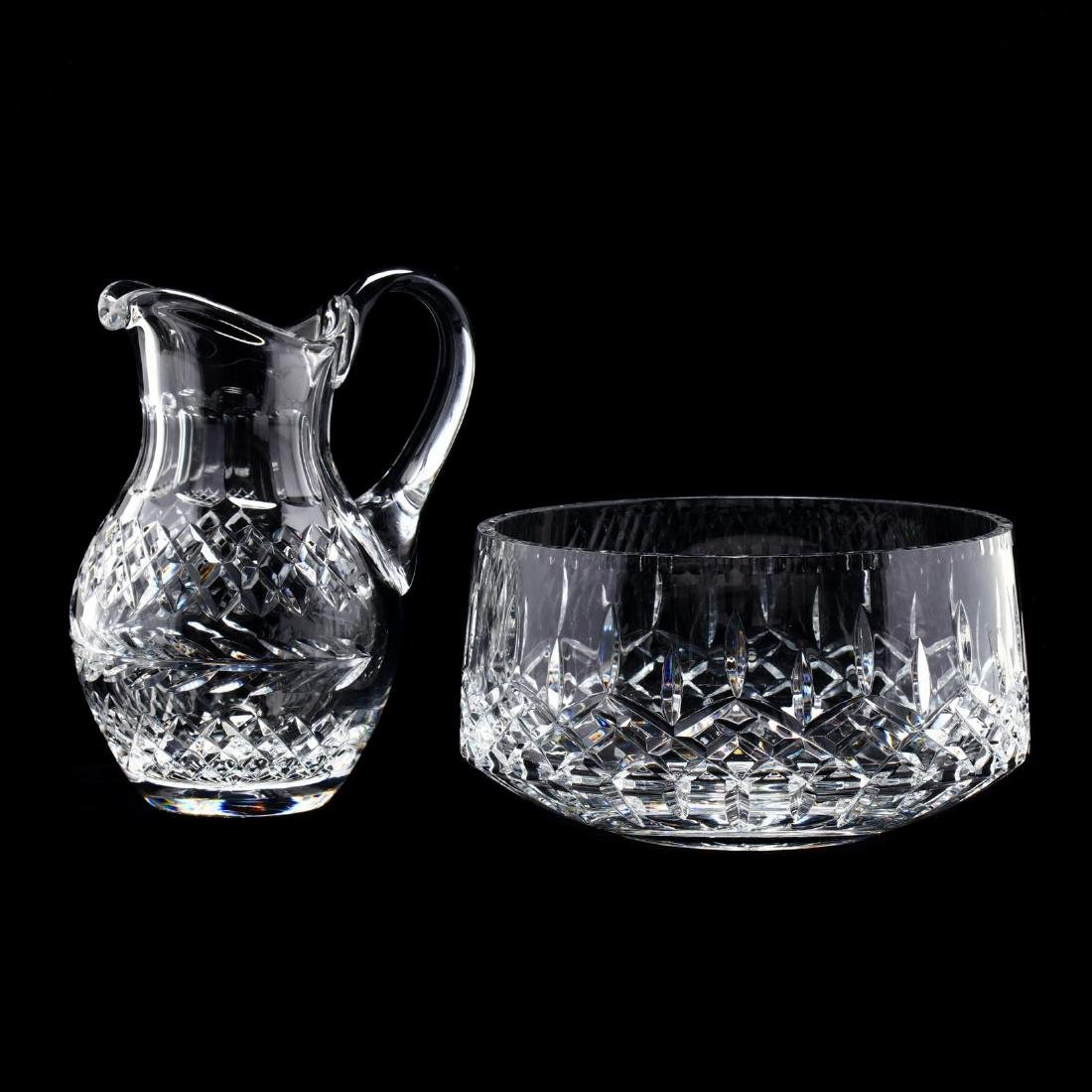 Two Crystal Table Accessories - 2