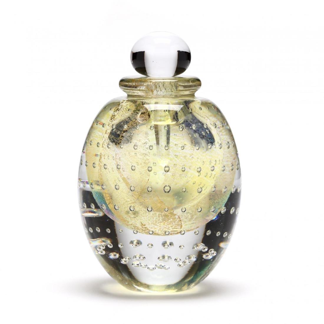 Eickholt Art Glass Scent Bottle