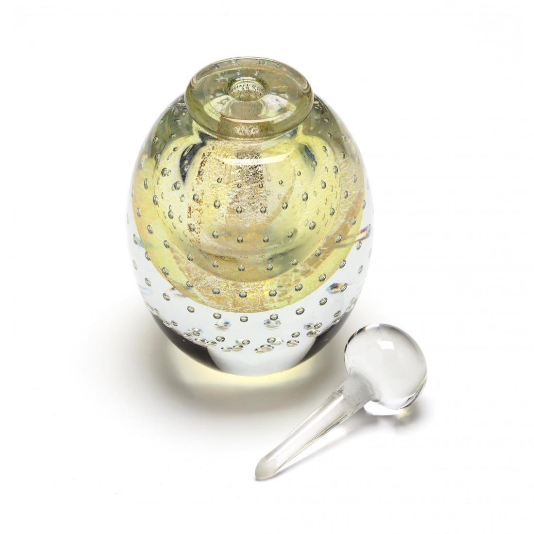 Eickholt Art Glass Scent Bottle - 2