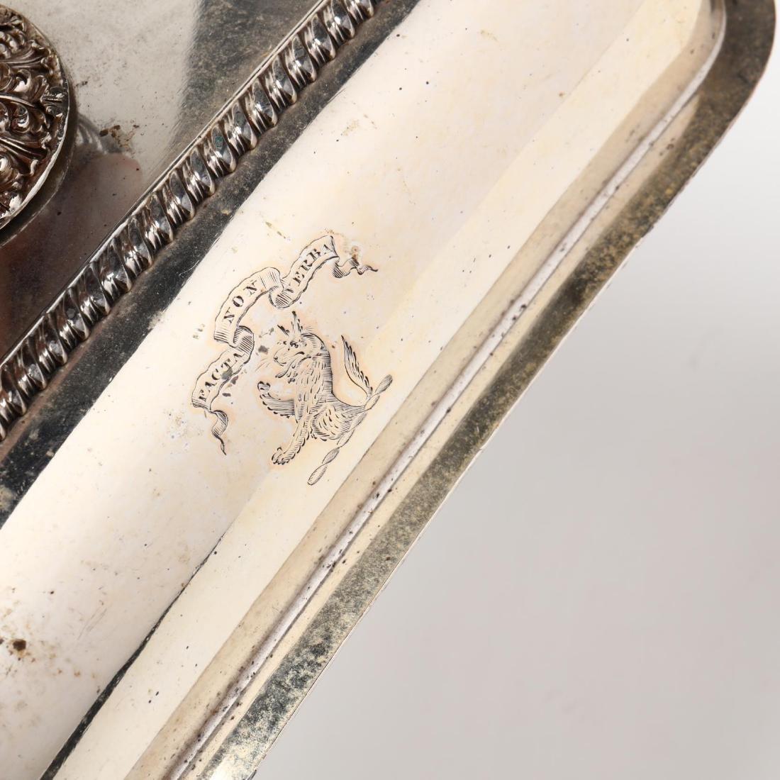 Three Antique & Vintage Silverplate Entrée Servers - 7