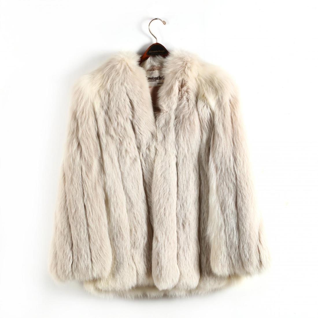 Ladies Fox Fur Jacket