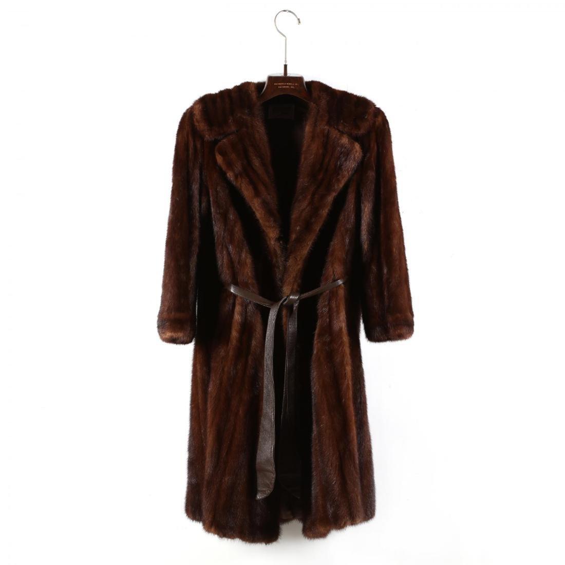 Vintage Ladies Mink Coat