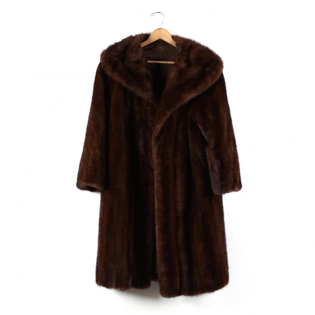 Ladies Vintage Mink Coat
