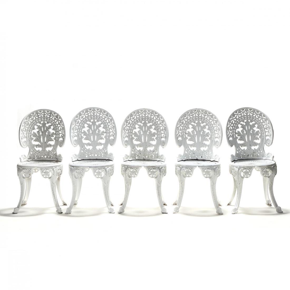 Twelve Piece Classical Style Cast Aluminum Garden Set - 2