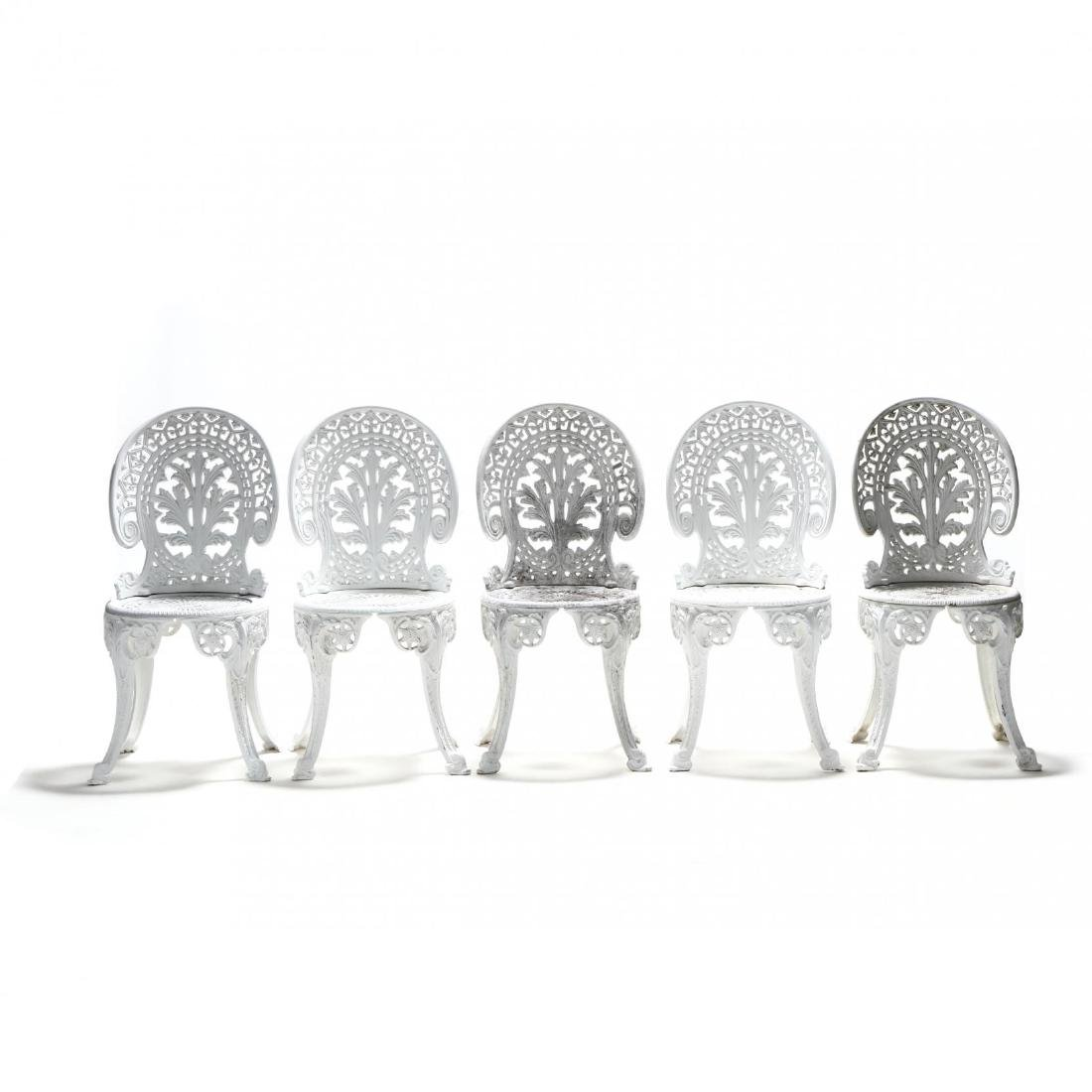 Twelve Piece Classical Style Cast Aluminum Garden Set - 3