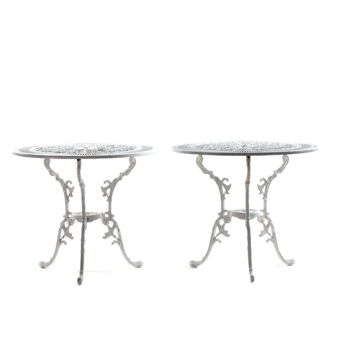 Twelve Piece Classical Style Cast Aluminum Garden Set - 6