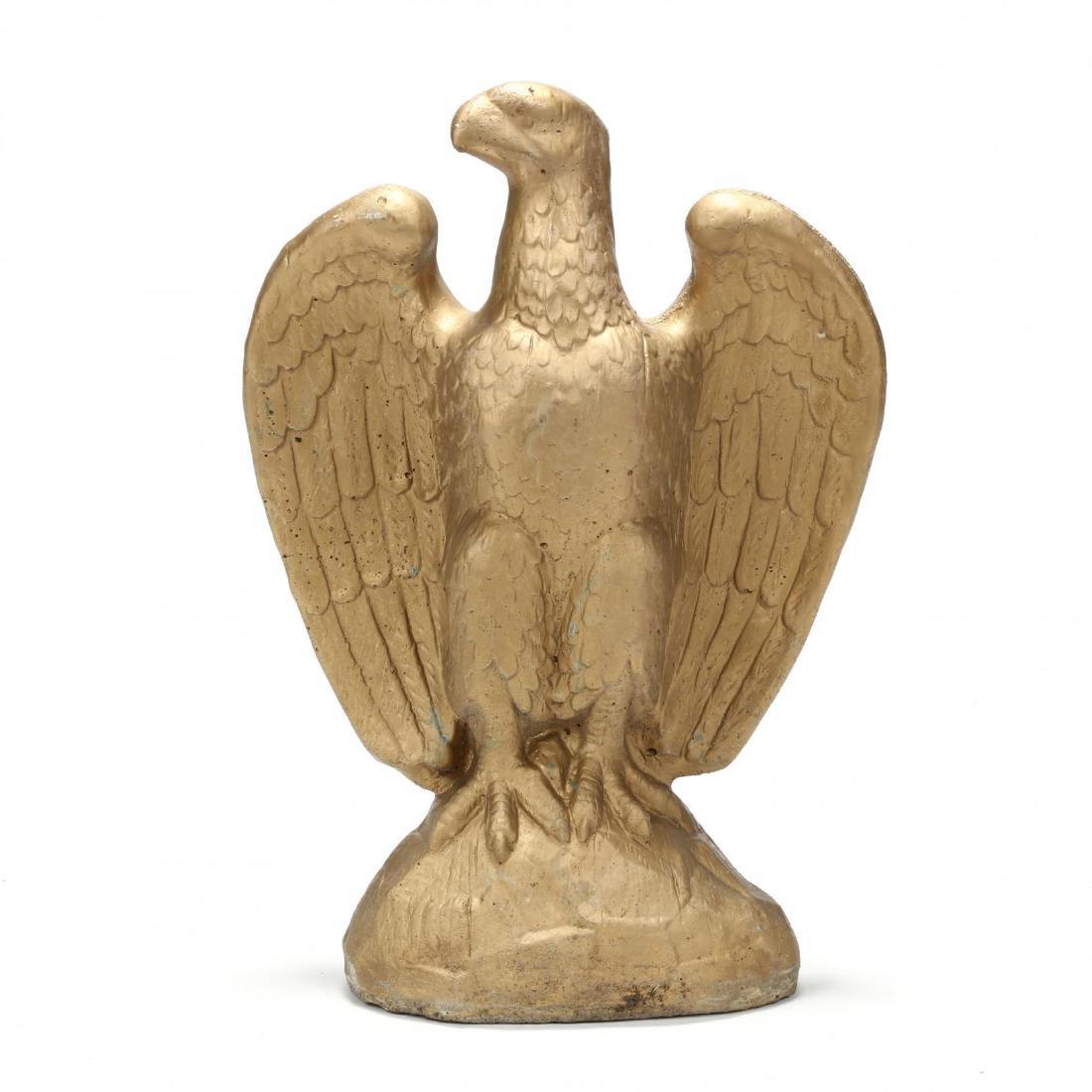 Federal Style Cast Stone Eagle